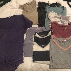 Z Supply Tops - Lot of 9 Z Supply T Shirts Small various colors